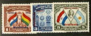 PARAGUAY 388-90 MNH BIN $.90