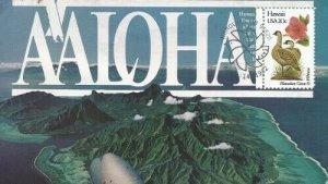 1963 20c HAWAII - Don Kauer paste on cachet #4