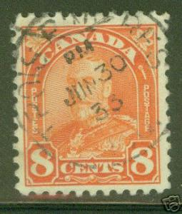 CANADA Scott 172 Used Stamp  CV $3.50
