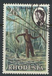 Rhodesia   SG 356  SC# 205   Used Water Conservation see details