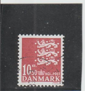 Denmark  Scott#  1304A  Used  (2009 State Seal)