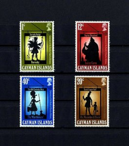 CAYMAN IS - 1970 - CHRISTMAS - DICKENS NOVELS - COPPERFIELD +++ MINT MNH SET!