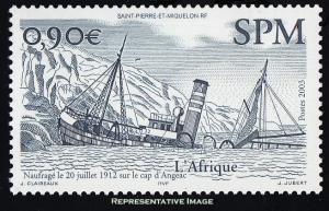 Saint Pierre & Miquelon Scott 766 Mint never hinged.