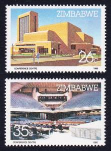 Zimbabwe Harare International Conference Centre 2v SG#688-689