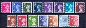 Great Britain (Northern Ireland) - Scott #NIMH1//NIMH15 - MNH - SCV $9.20