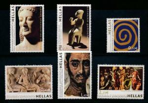 GREECE 2246-2251 MNH