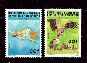 Cameroun 763-64 MNH 1984 Endangered Species