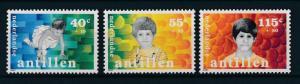 [NA875] Netherlands Antilles Antillen 1987 Children Welfare MNH # 875-77