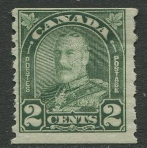 Canada - Scott 180 - Coil stamp Issue - 1930- MNH -  Single 2c stamp