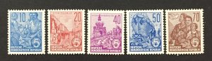 DDR 1955 #227//30, Various Designs, MNH