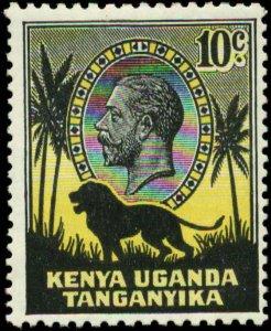 Kenya, Uganda & Tanzania Scott #48 SG #112 Mint Hinged