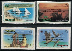 Anguilla #546A-D* NH  CV $10.35