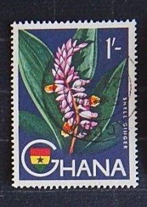 Ghana, Flower, (1562-Т)