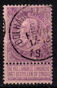 Belgium #74 F-VF Used CV $70.00 (X4861)