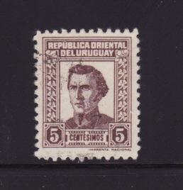 Uruguay 497 U José Gervasio Artigas, National Hero (A)