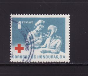Honduras RA8 Set U Red Cross, Nurse and Patient (D)