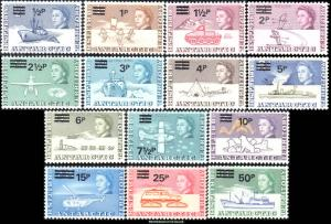 British Antarctic Territory Scott 25-38 Mint never hinged.