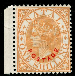 SOUTH AFRICA - Natal SG108, 1s orange, M MINT. Cat £13.