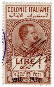 (I.B) Italy (Libya) Revenue : Marca da Bollo 1L (1916)
