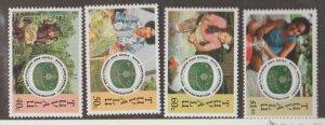 Tuvalu Scott #689-692 Stamps - Mint NH Set