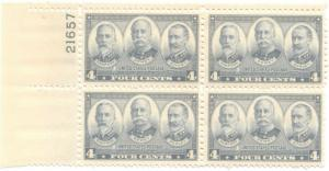 US #793 M/NH Plate Block of 4 45% of Cat $10.00 **FREE SHIPPING**