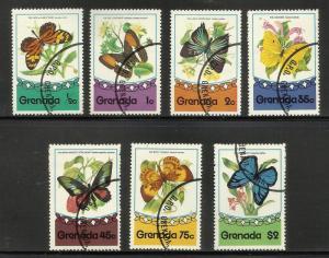 Grenada 1975 Scott# 660-666 Used