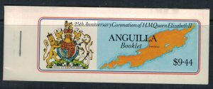 Anguilla #315-8* NH Complete booklet  CV $3.50
