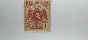 Albania #134 mint hinged e21.4 13147