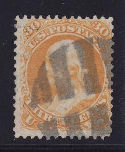 71 VF used neat cancel with nice color cv $ 190 ! see pic !