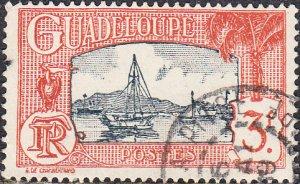 Guadeloupe #134 Used