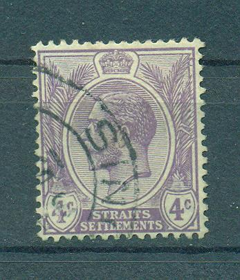 Straits Settlements sc# 184 (3) used cat value $.25