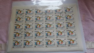 1980 full sheet oF POLAND STAMPS. ( 30 STAMPS ) MNH