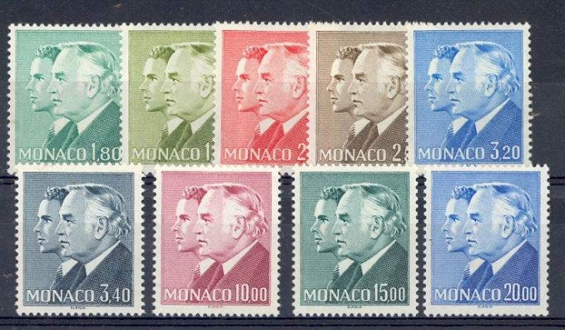 Monaco Scott 1505 // 1515 (missing 1507, 1512) - Catalog Value $37.75