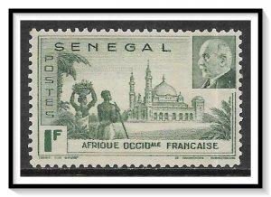 Senegal #193 Vichy Issue NG
