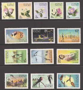 Nauru 91-104 Mint VF NH