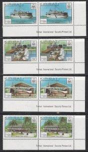 Kiribati 352-5  MNH  London 1980 Stamp Exhibition