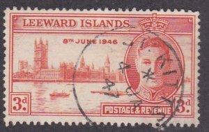 Leeward Islands # 117, Peace Issue, Used, 1/3 Cat.
