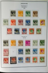 Singapore 1948 to 1990s Clean Loaded Stamp Collection