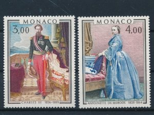 [I2698] Monaco 1979 Painting good set of stamps very fine MNH