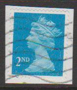 GB QE II Machin SG U2957 - 2nd brt blue -  M11L - Source  none