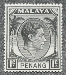 DYNAMITE Stamps: Malaya Penang Scott #3 – UNUSED