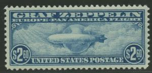#C15 $2.60 1930 ZEPPELIN SUPERB OG NH GEM W/ PSAG 98 CERT CV $4,250++ WLM8137