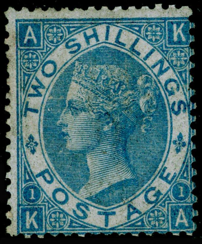 SG118, 2s dull blue, M MINT. Cat £4200. KA