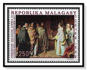 Madagascar #422 London Visit MNH
