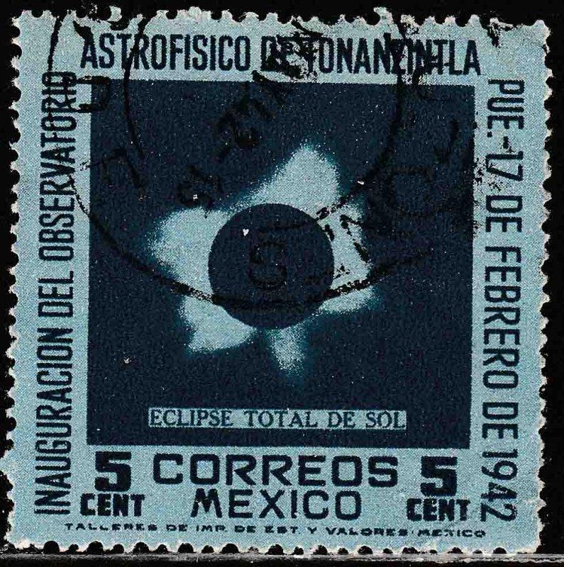 MEXICO 775, 5¢ Tonanzintla Astrophysics Observatory. Used. VF. (728)