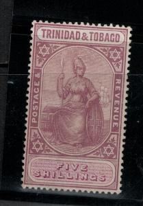 Trinidad & Tobago 1914 SC 10 /SG 18b LH CV$ 150