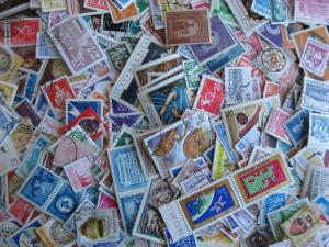 Hoard breakup 400 Romania mostly different Duplicates & mixed condition
