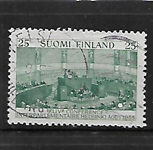 FINLAND, 329, USED,CONFRENCE HALL