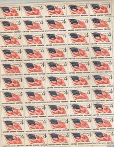 Scott 1132 - 49 Star Flag. Sheet Of 50  MNH. OG.  #02 1132