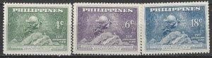Philippines 531-3   MNH  UPU 75th Anniversary